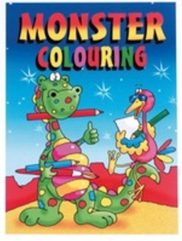 Wf Wf Wf Graham Monster Colouring Book A4 3000 B003F905SK | Qualität Produkte  8c9866