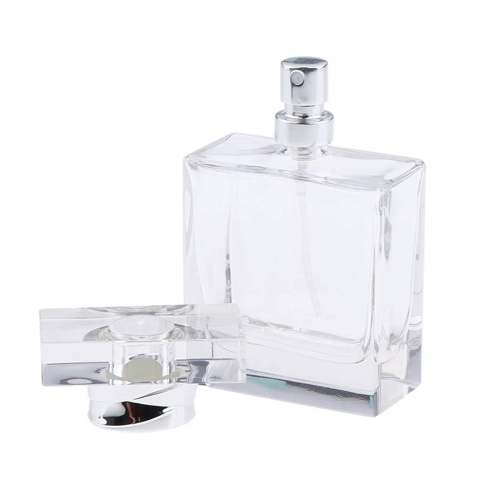 等しい硬い剥離CUTICATE 香水ボトル ガラス 香水瓶 50ml ポータブル 旅行 小分け容器 化粧ボトル