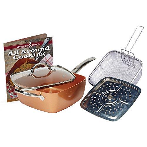 Copper Chef KC15053-04000 5-Piece Cookware Set