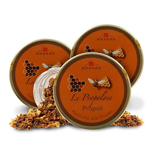Pastillas De Propóleo, Caramelos De Própolis - 35 Gramos (Paquete de 3 Piezas)