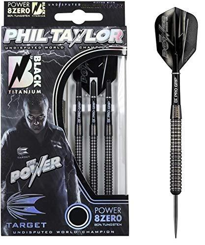Target Darts - Dardos Phil Taylor Power 8Zero de Titanio con
