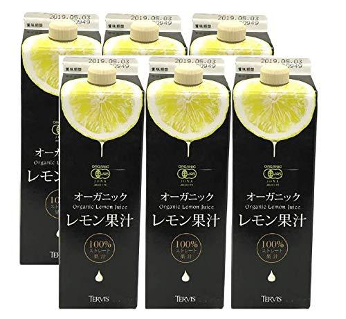 有機レモン果汁 1000ml ×6本