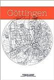 Poster 61 x 91 cm: Göttingen Karte Kreis von Campus
