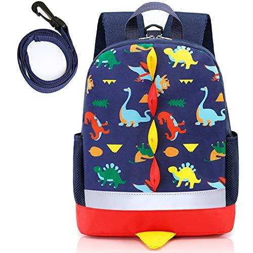 Eotvkof Dinosaur Toddler Boys Backpack Kids Rucksack, Nursery Backpack with...