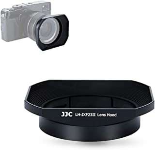 23mm & 56mm レンズフードシェード 富士フイルムフジノンレンズ XF 23mm F1.4 R & XF 56mm F1.2 R & XF 56mm F1.2 R APD 富士フイルム LH-XF23 フード交換 ブラック