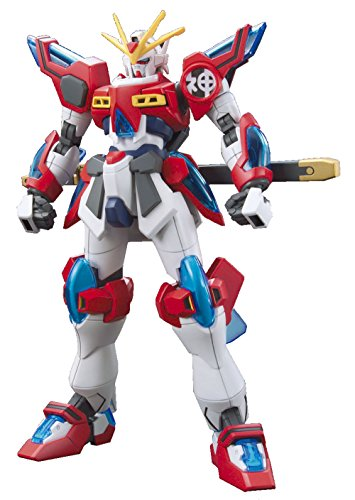 TAMASHII NATIONS Bandai HGBF 1/144 Kamiki Burning Gundam Gundam Build Fighters Action Figure