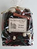 Old Candle Barn Winter Wishes Potpourri Large Bag - Perfect Winter or Christmas Decoration or Bowl Filler - Well Scented and Made in The USA