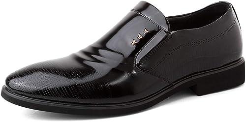 Chaussures de mode, mode, Gentleman Cool Oxford Chaussures Pour Hommes Classique Affaires Chaussures Formelles Slip On Style OX En Cuir Léger Et Confortable Britannique En Cuir Verni Travail Sauvage Chaussu  articles promotionnels