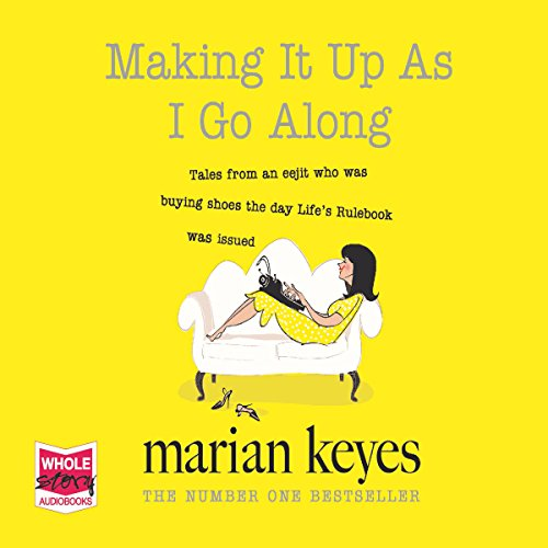 Making It up as I Go Along audiobook cover art