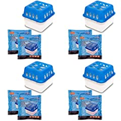 4X Ultra Fresh Avfuktare Fuktpropp med Refill påse Granulat