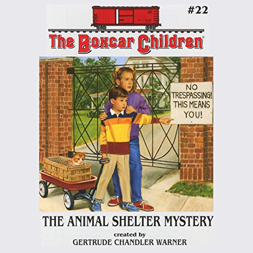 The Animal Shelter Mystery audiobook cover art