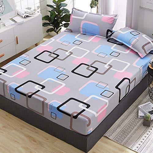 RESUXI kingsize matrasbeschermer, waterdichte lakens voor kinderen, ademende baby, oversized luierpad, afwasbare bedhoes