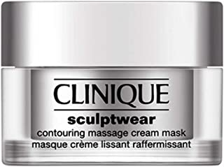 Clinique Sculpt Wear Contouring Massage Cream Mask for Women, 1.7 Ounce