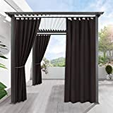 RYB HOME Indoor Outdoor Curtains - Gazebo Curtains Decoration Panel...