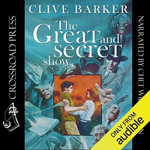 Great & Secret Show audiobook cover art