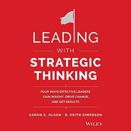 Leading with Strategic Thinking audiobook cover art