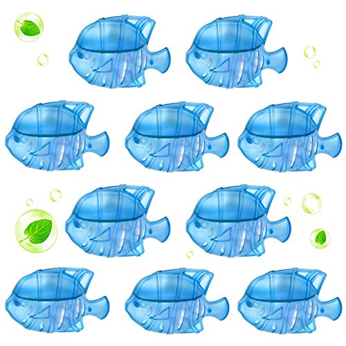 Jingggsssense 10 Pcs Universal Humidifier Tank Cleaning Fishes, Compatible with Drop, Warm & Cool Mist Humidifiers, Fish Tank, Droplet, Adorable Cleaning Fishes