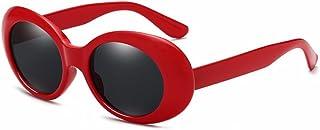 BOZEVON Rétro Lunettes de soleil ovale - UV400 Goggles Femmes & Hommes