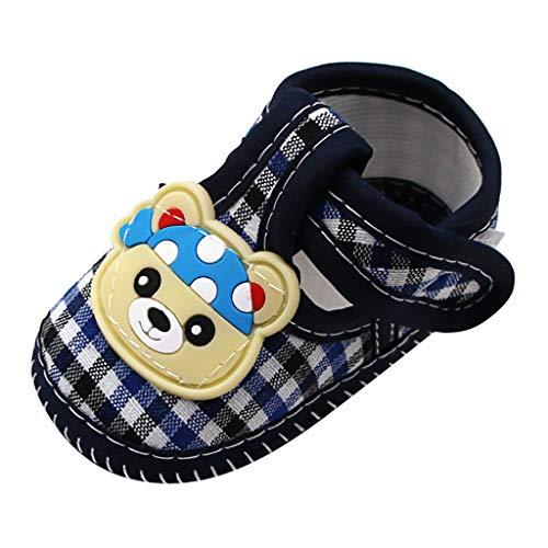 Newborn Baby Walking Shoes Slippers Socks,Baby Girls Cute Bear Prewalker Soft Sole Sandals Single Walking Shoes