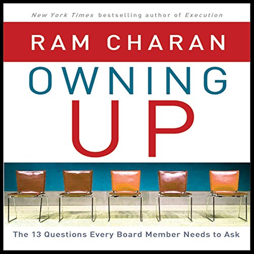 Owning Up audiobook cover art
