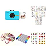 Polaroid Snap Touch Instant Print Digital Camera With LCD Display (Parent) with Zink Zero Ink P…