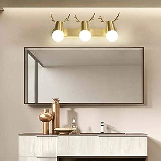 XNCH LED Mirror Headlights 3 Head Bathroom Wall lamp Rotating Wall Lighting Anti-Fog Stainless Steel Acrylic Mirror Cabinet Light/Dressing Mirror Light/Wall Lighting-3