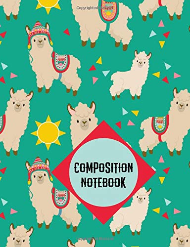 Composition Notebook: Llama Notebook College Ruled Journal - Back to School Diary Planner Gift Students Teachers Boys Girls 100 sheets- Add On Item
