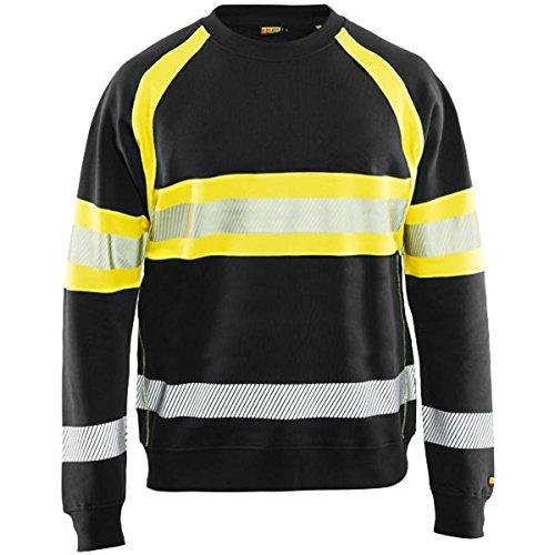 Blakläder Sweater High-Vis Größe, 1 Stück, L, schwarz/gelb, 335911589933L