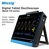 Micsig 100MHz 2CH 1GS/s digital tablet oscilloscope TO102, you can not image how easy for you to using
