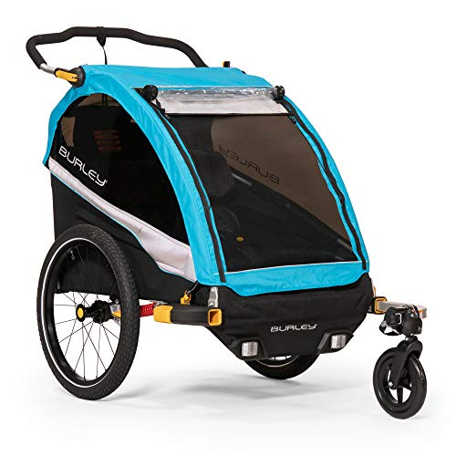 Best Prices! Burley D'Lite X, 2 Seat Kids Bike Trailer & Stroller