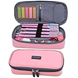 Aiscool Big Capacity Pencil Case Holder Bag Pen Organizer Pouch Stationery Box for School Supplies Office...