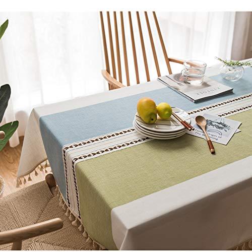 LIUJIU Mantel impermeable de PVC/vinilo apto para mesas de comedor, cafeterías, restaurantes, uso en interiores y exteriores, 90 x 90 cm