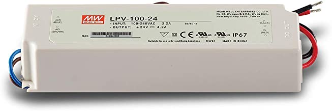 Meanwell LPV-100-24 100W 24V IP67 4-2a LED Power Supply Driver