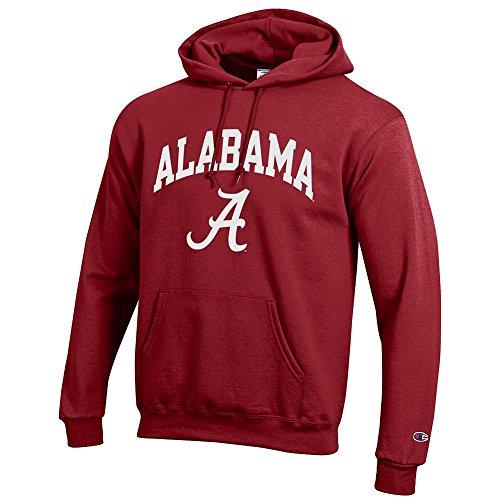 Elite Fan Shop Alabama Crimson Tide Hoodie Sweatshirt Varsity - Large