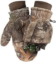 ScentLok Fleece Winter Camo Pop Top Camo Hunting Gloves (RT Edge, XL)