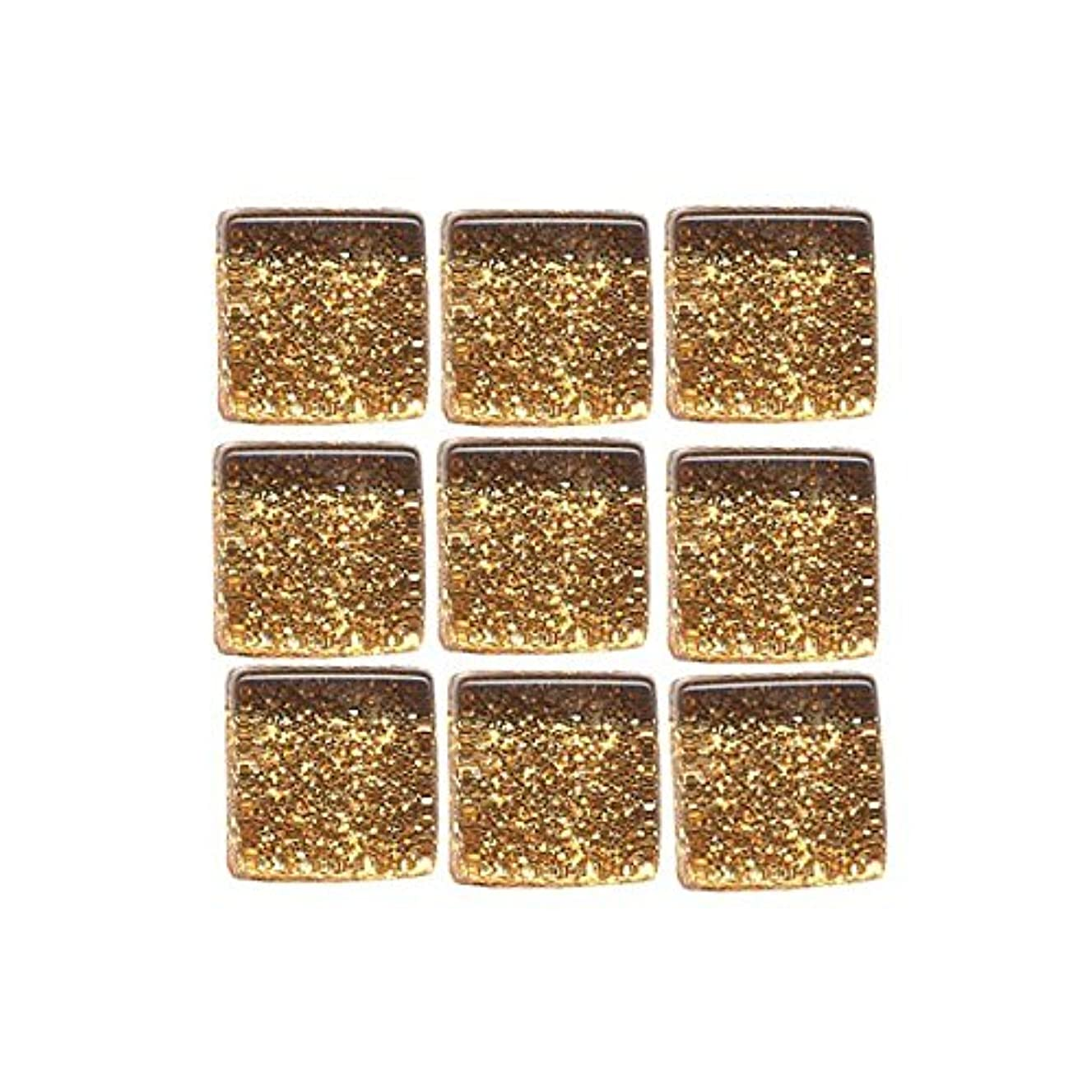 MosaixPro 10 x 10 x 4 mm 200 g 215-Piece Glass Glitter Tiles, Copper