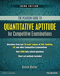 Quant Aptitude for COMP Exams 3ed (Old Edition)