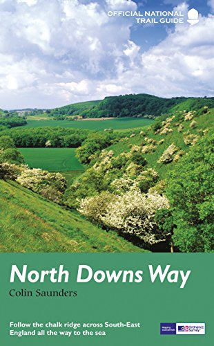 North Downs Way: National Trail Guide (National Trail Guides)