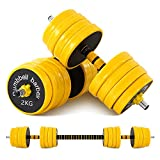 Nice C Adjustable Dumbbell Barbell Weight Set