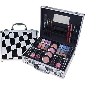 Gloss - caja de maquillaje, caja de regalo para mujeres - Maquillaje Case - Estilo Moderno - 62 piezas: Amazon.es: Belleza