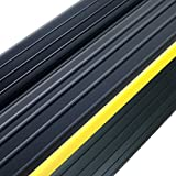Weather Defender Heavy Duty 3.2m Garage Door Floor Seal Strip with Adhesive