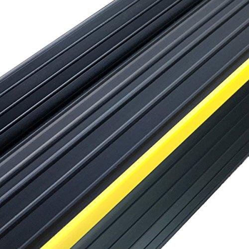 Weather Defender Heavy Duty 3.2m Garage Door Floor Seal Strip with Adhesive