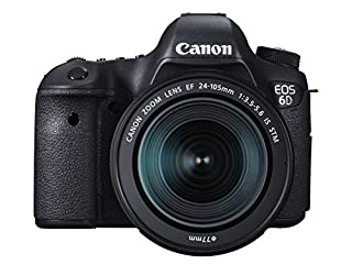Canon EOS 6D EF 24-105mm F/3.5-5.6 is STM 20.2MP SLR Camera with 3.0-Inch TFT LCD (B00RKNMFLM) | Amazon price tracker / tracking, Amazon price history charts, Amazon price watches, Amazon price drop alerts