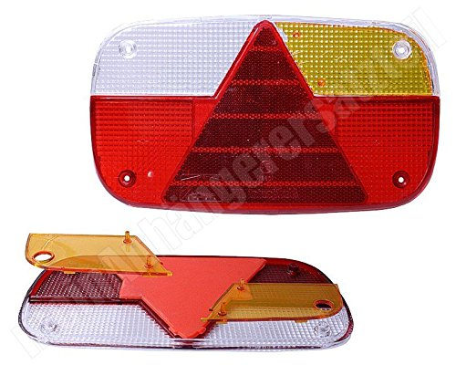 Aspöck Multipoint 3 Lichtscheibe Ersatzglas für Rückleuchte links & rechts