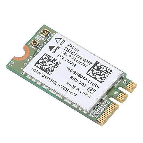 sjlerst 5G Dual Band Wireless-Netzwerkkarte,Für Qualcomm Atheros QCNFA34AC 867M Bluetooth 4.0 Fit,Für Lenovo B50-80 E460 E560 Yoga 500-Serie,Hochgeschwindigkeitsübertragung von Signalen