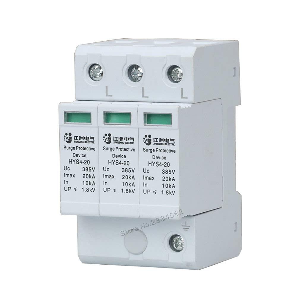 3P SPD AC 385V 10KA~20KA House Sales for sale High order Protective Protector Surge Low-Vo