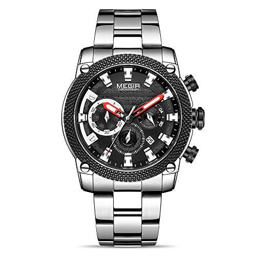 Reloj - Megir - Para Hombre. - ALXMG2134-Silver