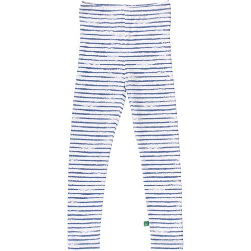 Fred'S World By Green Cotton Ocean Stripe Leggings Baby, Bleu (Blue 019403901), 68 Bébé garçon