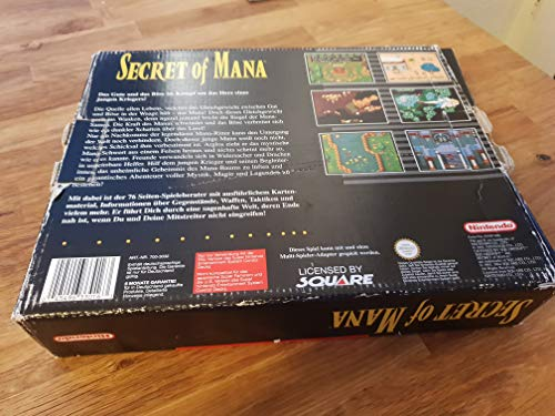 Secret of Mana (Inkl. Nintendo Spieleberater)