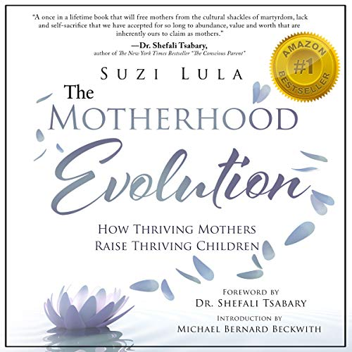 The Motherhood Evolution audiobook cover art
